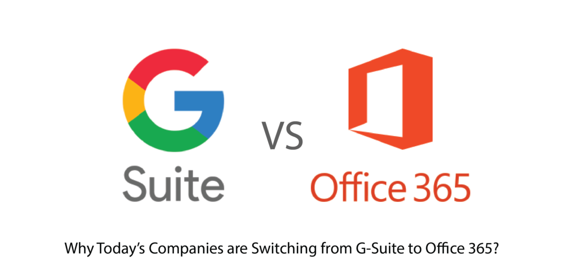G-Suite Vs Office 365 India